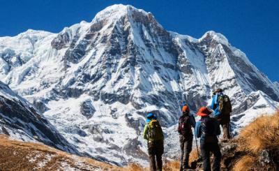 The Massive Annapurna Himalayan Range