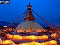 The Largest Unique Structure's Stupa in The World.